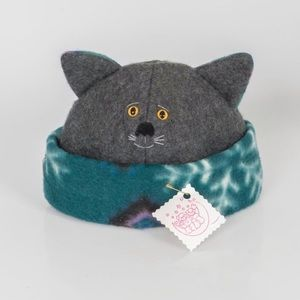 🌟NWT 🌟Host Pick🌟Artisan Hand made cat hat